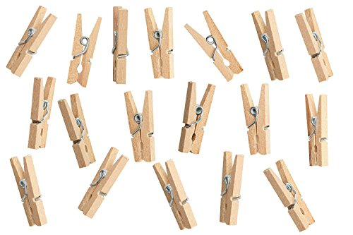 Greenco Laundry Clips - Wooden Clip