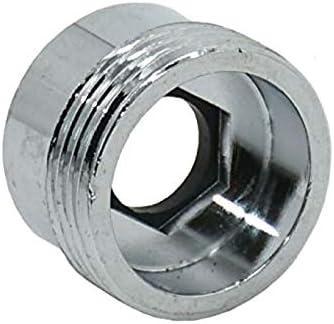 COMEYOU Adaptador de Grifo 2PCS Conector de Grifo de Cocina Metal sólido para purificador de Agua (18 mm Hembra a 22 mm Macho)