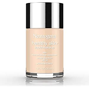 Best Epic Trends 41UCIH5cBNL._SS300_ Neutrogena Healthy Skin Liquid Makeup Foundation, Broad Spectrum SPF 20 Sunscreen, Lightweight & Flawless Coverage…