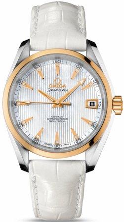 Omega Seamaster Aqua Terra Mid-Size Chronometer Mens Watch 231.23.39.21.55.002