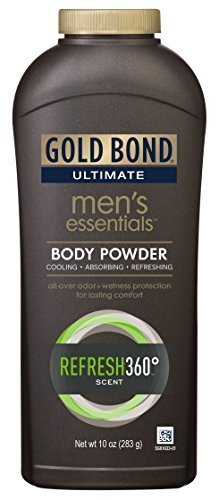 Gold Bond Ultimate men's essentials body powder - Buy Packs and SAVE (Pack of 2)