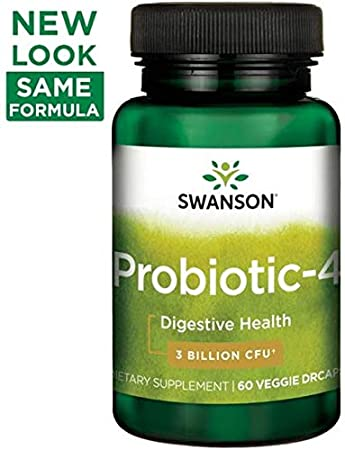 Amazon.com: Swanson Probiotics probiotic-4 60 Count ...