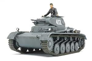 Tamiya 300032570 - Maqueta de tanque Dt.Panzer Ausf.A II / B / C F.C. de la Segunda Guerra Mundial (escala 1:48)