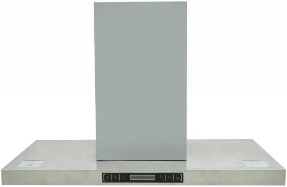 Anself campana extractora de acero inoxidable para la cocina: Amazon.es: Grandes electrodomésticos