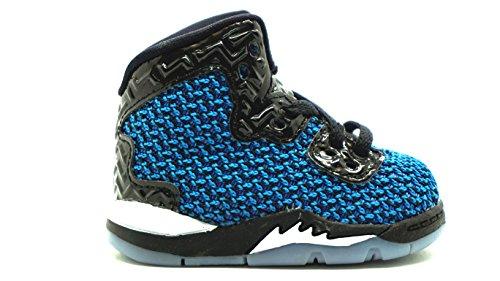 [807545-029] AIR Jordan Spike Forty BT Toddlers Sneakers Black/FR Pink (Toddlers Shoes Boys Jordan)