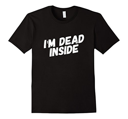 Ideas Halloween Goth (Mens I'm Dead Inside T-Shirt Funny Halloween Goth Grunge Tee 3XL)