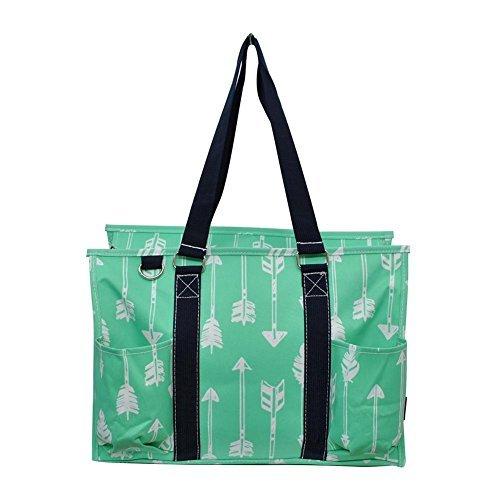 N Gil All Purpose Organizer Medium Utility Tote Bag 3 (Arrow Mint -