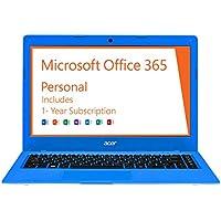 Acer Cloudbook 14, 14-inch, Celeron N3050, Win 10, Office 365 Personal-1 year, 2GB DDR3L, 32GB, AO1-431-C3TM