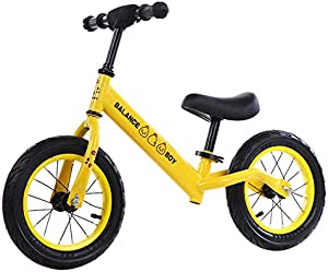 GAOLIQIN Children's Balance Bike,for 2—6 Years Old Boys Girls,No Pedal Walking Balance Bike,Training Bicycle for Kids and Toddlers
