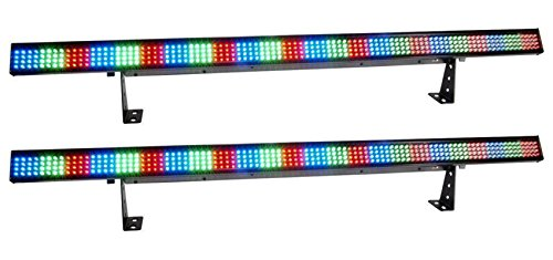 (2) Chauvet COLORSTRIP 4 Channel DMX LED DJ Light Bar Effects Color Strip x 2
