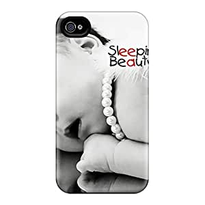 For Iphone 4/4s Protector Case Sleeping Beauty Phone Cover