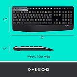 Logitech MK345 Wireless Combo Full-Sized Keyboard