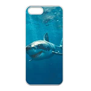 Welcome!Iphone 5/5S Cases-Brand New Design Sea Shark Printed High Quality TPU For Iphone 5/5S 4 Inch -01