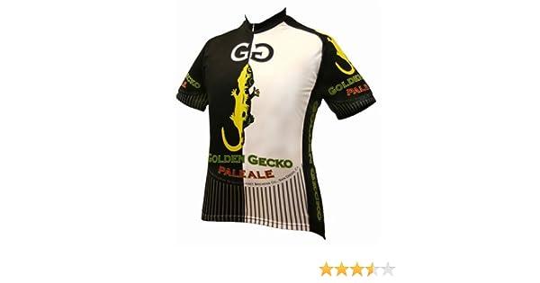 89eef8a35 Amazon.com   World Jerseys Men s Golden Gecko Cycling Jersey   Sports    Outdoors