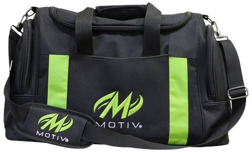 Motiv Deluxe Double Tote Black/Green by Motiv