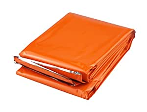 "SE EB121OR 83"" x 51"" Emergency Blanket, Orange"