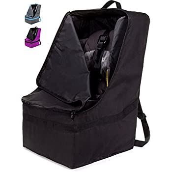 ZOHZO Car Seat Travel Bag Adjustable Padded Backpack For Seats Tote Save Money Make Traveling Easier Compatible With Most Name