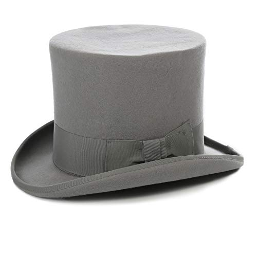 (Ferrecci S Light Grey Top Hat)