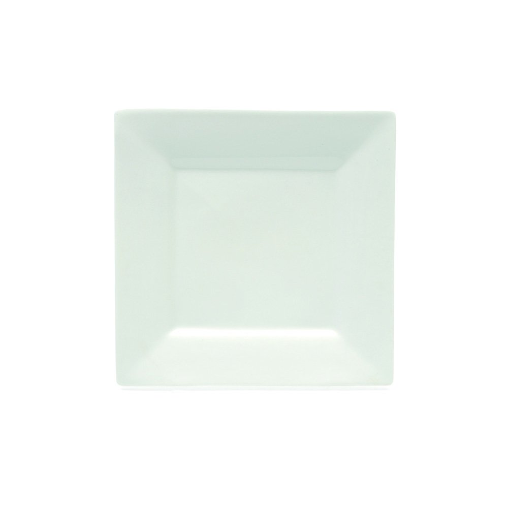 Maxwell and Williams Basics Square Side Plate, 7.5-Inch, White Fitz and Floyd AA0921