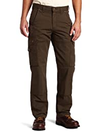 Men's Cotton Ripstop Relaxed Fit Work Pant