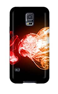 New Galaxy S5 Case Cover Casing(colorful Smoke)