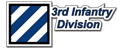 United States Army 3rd Infantry Division Decal Bumper Sticker 8