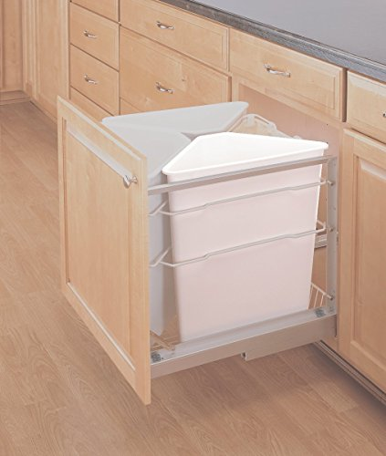 Rev-A-Shelf Recycle Center Replacement Container-White