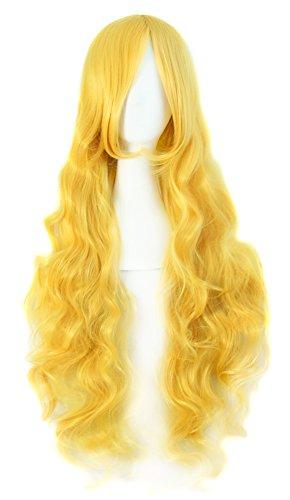 MapofBeauty Spiral Cosplay Costume Yellow product image