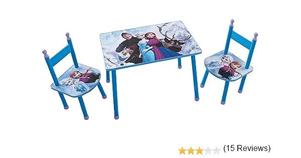 Fun House 712505 Disney Frozen – Juego de Mesa con 2 sillas para ...