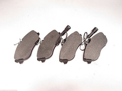 Audi 200 & 5000 Vehicles Axle Set of 4 New Axxis Metal Master Front Brake Pads Axxis Metal