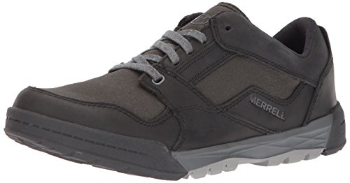 Merrell Men's Berner Shift LACE Fashion Sneaker, Black, 8.5 M US ()
