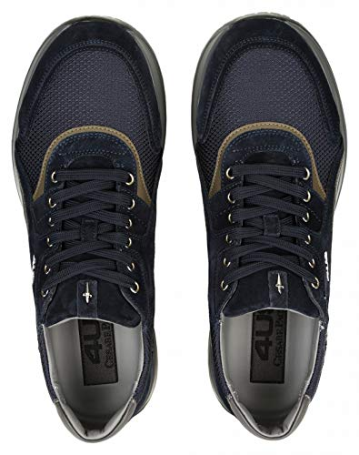 Cricket Blu navy Paciotti Cesare Sneakers 4us Uomo Ssdu2tca qtO7T4
