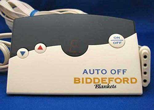 Biddeford TC12B0-D Electric Heating Blanket 4 Prong Controller