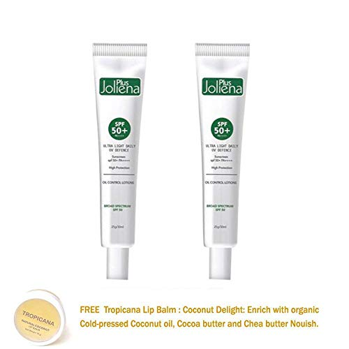 2 UNITS OF JOLIENA PLUS SPF 50 PA++++ 25G. SUNSCREEN BOUNCE UP BRIGHTENING WHITENING AURA SKIN CARE[GET FREE TOMATO FACIAL MASK]