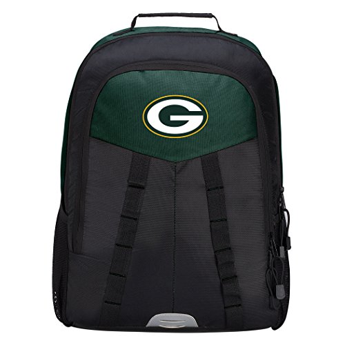 Green Bay Packers Laptop - Officially Licensed NFL Bay Packers Scorcher Sports Backpack, Green