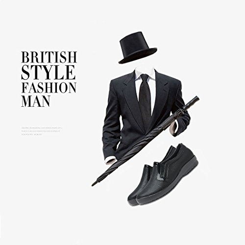 Plus Chaud Derniers Hommes À La Mode Dinstinctive Faible Pluie Chaussures Antidérapantes / Imperméables Jour De Pluie / Activités De Plein Air Noir