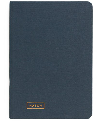 Hatch Notebook - Turn Ideas into Reality, Business Project Notebook Planner for Makers, Personal Organizer Agenda Creative Journal Sketchbook, Achieve Goals Increase Productivity, Hardcover Undated