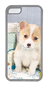 iphone 5C case,custom iphone 5C case,TPU Material,Drop Protection,Shock Absorbent,Customize your own cell phone case pattern,transparent case,The dog