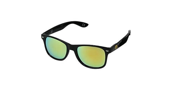 One Size NAVY-6 NCAA USNA Navy Black Frame Gold Lens Sunglasses Black