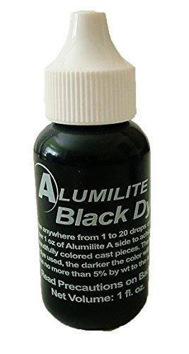 Epoxy Dye (Alumilite Colorant Single Color Liquid Pigment Dye Black)