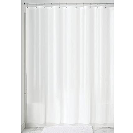 InterDesign Mildew Free EVA 55 Gauge Shower Curtain Liner 72quot X 84quot
