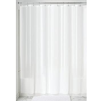 Amazon InterDesign Mildew Free EVA 55 Gauge Shower Curtain