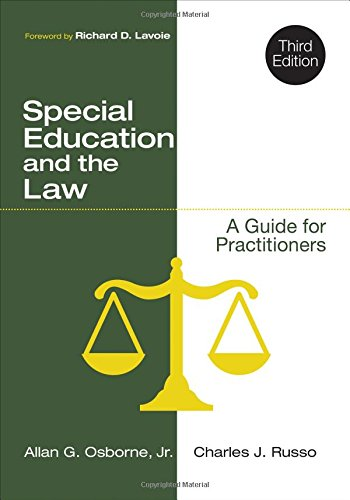 Special Education and the Law: A Guide for Practitioners