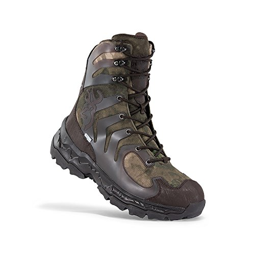 Boots Uninsulated Tactical (Browning Buck Shadow Hunting Boots, A-Tacs FG, Uninsulated, 10)
