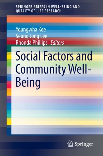 Social Factors and Community Well-Being (SpringerBriefs in Well-Being and Quality of Life Research)