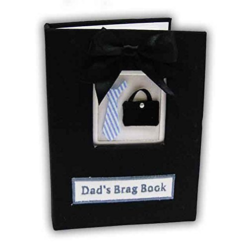 Stephan Baby Dad's Brag Book Photo Album Holds 36 Picture Black Father
