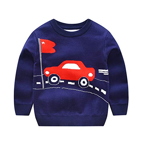 Evelin LEE Baby Boys Knitted Pullover Sweaters Long Sleeve C