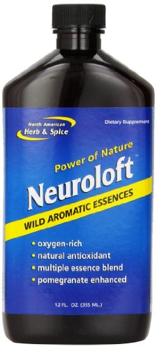 North American Herb and Spice, Neuroloft Essence, 12-Ounce (Spice Rosemary Essence)