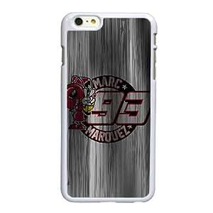Marc Márquez L6Y36W3FE funda iPhone 6 6S más la caja de 5,5 pufunda LGadas funda D086AK blanco