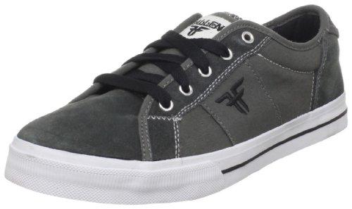 Fallen Men's Lotus Skate Shoe,Charcoal/Black,9 M US